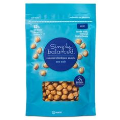 Sea Salt Roasted Chickpeas 5oz - Simply Balanced™ : Target