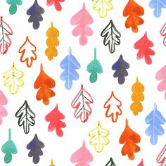 pattern, print, leaves, colour, autumn, mustard, repeat, surface pattern, wrapping paper