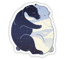 Day and Night Sticker