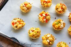 Cheesy Bold Bites Recipe If I can make a quick and easy dinner or appetizer I am ALL for it! Though I love to cook I always have a to-do list a mile long with not enough time to finish it. These bites are made with VELVEETA Shells and Cheese, are delicious, and EASY to make!