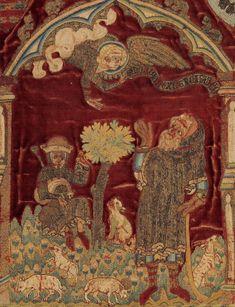 Histoires de Noël dans l'Opus Anglicanum – Histoire & Images Médiévales