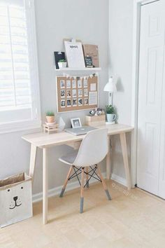 Office Space Home Idea How To Style A Desk Accessories