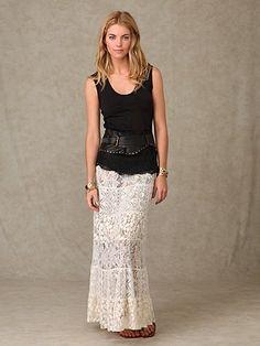 ruffle lace skirt - Google Search