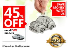 Mega Sale 45% Of an all #Volkswagen models! Limited time only! #sale #car #car_services