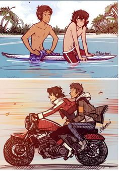 Basically, I will post pictures and comics about Klance (aka my favorite shipping in the series) from Netflix Voltron. I do not own Voltron, its characters and the pictures, as they belong to their owners. I hope you will enjoy it! Voltron Klance, Voltron Comics, Voltron Memes, Voltron Fanart, Form Voltron, Voltron Ships, Anime Amor, Pixar, Samurai