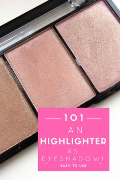 A while ago I've received an highlighter. I thought the colours were really beautiful, but more for an eyeshadow. I am very pale, so for me many colours are way too dark. Also this highlighter. Still, it worked out pretty good for me and now I use this highlighter for my daily make-up.