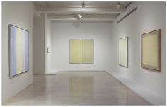 """Pace Gallery - """"Closing the Circle, Early and Late"""" - Agnes Martin"""