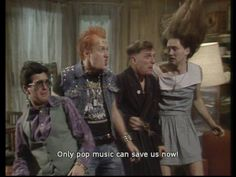 The Young Ones was one of the weirdest, strangest, oddest, yet funniest comedy shows of the To say that it had a unique sense of humour was an British Humor, British Comedy, English Comedy, British Sitcoms, Welsh, Rik Mayall, Vinyl Music, Comedy Tv, First Tv