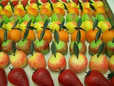 Marzipan is nothing more than a smooth paste of finely ground blanched sweet almonds mixed with sugar. Other ingredients are sometimes added, too, such as water, egg whites, sugar syrup, honey, almond extract, a small amount of bitter almonds, rosewater, orange blossom water and food colorings.