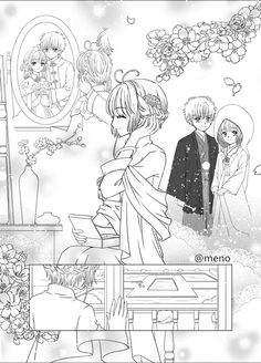 Sakura Card Captor, Sakura Kinomoto, Xxxholic, Clear Card, Magic Cards, Anime Love Couple, Otaku, Doujinshi, Cute Drawings