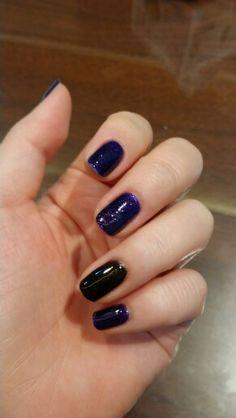 #violet#black#pearl#nail#셀프네일#보라색#펄