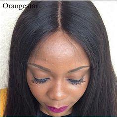"Unprocessed 4""x4"" Straight Virgin Peruvian Hair Lace Closure 8""-22"" Swiss Lace #orangestar #Straightlaceclosure"