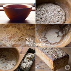 Kuchařka ze Svatojánu: CHLEBA KYNUTÝ V DŘEVĚNÉ MÍSE