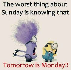 Tomorrow is Monday!!