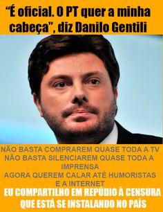 Brasil-PT-2014-Frase-Danilo Gentili e a censura na imprensa