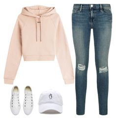 """""""Unbenannt #4092"""" by hitthisfeeling ❤ liked on Polyvore featuring Off-White and Converse"""