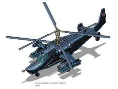 Ka-50 Hokum A (Black Shark)