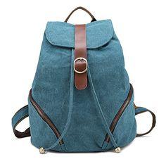 Cute Backpacks For Travel Diy Rucksack, Cute Backpacks For Traveling, Popular Bags, School Backpacks, Travel Backpack, Blue, Camping, Student, Sky