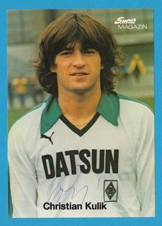 Christian Kulik - Borussia Mönchengladbach - Super Magazin-Karte # 12515 in Sammeln & Seltenes, Autogramme & Autographen, Sport   eBay