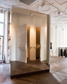 Mesmerising Mirrored Mood - Mauro Grifoni store in Amsterdam | Yellowtrace.