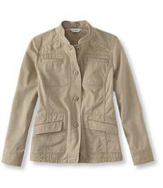 #LLBean: Women's Kennebec Cargo Jacket, Twill