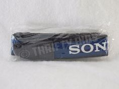 Genuine OEM Sony Camera / Camcorder Shoulder Neck Strap Blue New FreeShip #Sony
