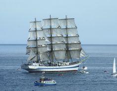 <b>Tall Ships</b> Race start, Falmouth 2008 | intheboatshed.net