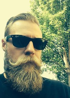Great shape and a well styled moustache makes all the difference #handsome #beards #gentlemen