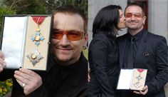 Bono Gets Knighted