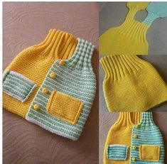 Knitted Boys and Girls Baby Sw