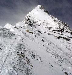 Summit Pyramid - Mt. Everest Photos / Picture Gallery - Mount Everest Pictures