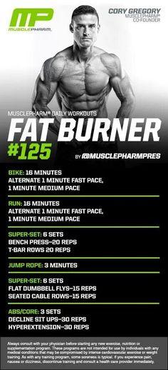 MusclePharm Fat Burner#125