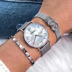 Rolex Women, Mode Boho, Girly, Beautiful Watches, Bracelet Designs, Fashion Watches, Rolex Watches, Bracelets, Jewelery