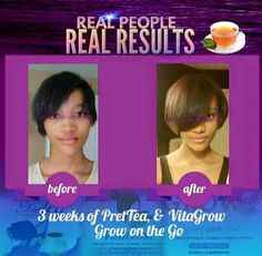 #Prettea #Vitagrow #GrowOnTheGo All Natural. Healthy Hair from the Inside, Out.  www.MyPretteaCrown.com