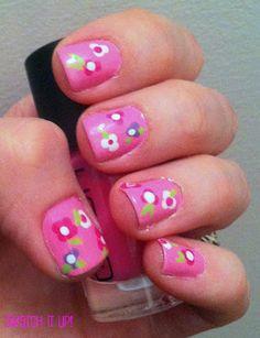 Bubble Gum & Flowers via http://swatchitup.blogspot.ca/