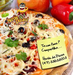 Banner rede social Facebook - Dia de Pizza