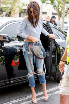 How to wear ripped jeans by the stars