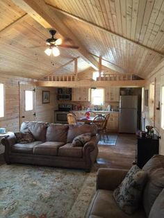 Shed To Tiny House, Tiny House Loft, Tiny House Living, Tiny House Design, Shed Homes, Cabin Homes, Tiny Homes, Cabin House Plans, Small House Plans