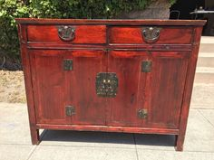 Stunning Antique Chinese Cabinet