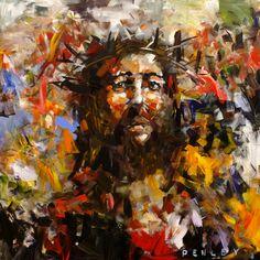 Jesus Christ - modern - artwork - other metro - Penley Art Company