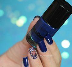 Azul Marinho @delacor_esmalte por @je_vasconcellos