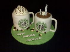 Starbucks cake Let them eat cake Pinterest Starbucks Cake