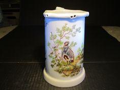 "Puzzle Porcelain 7"" Stein Mug NUDE GIRL LITHOPHANE Wild Fowl Partridge German? | eBay"