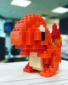 #charmander #pokemon #nanoblock #nanoblockcharmander #roar #cutenessmaxoverload #collectible #kinokuniya #firelizard #miniaturepokemon