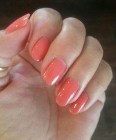 Nails By Cindi Naturals Party Crasher Pink Therougesalonandspa Cindinaturals Beautifulnails Natural