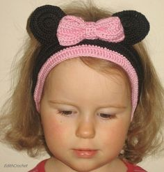 Minnie mouse headband. Love it!!!!