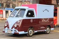Daewoo Damas Volkswagen VW Flower Van