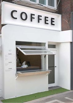 Cafe Shop Design, Small Cafe Design, Kiosk Design, Cafe Interior Design, Shop Front Design, Cafe Bar, Cafe Restaurant, Restaurant Design, Small Coffee Shop