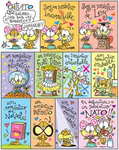 #Gaturro #romántico