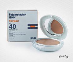 No Make It: Novidade na Panvel: Fotoprotector ISDIN® Compact 40